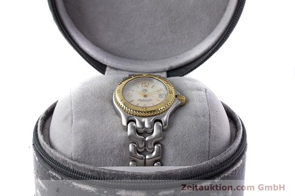 Used luxury watch Tag Heuer Link steel automatic Kal. ETA 2000-1 Ref. WG2320  | 161425 06