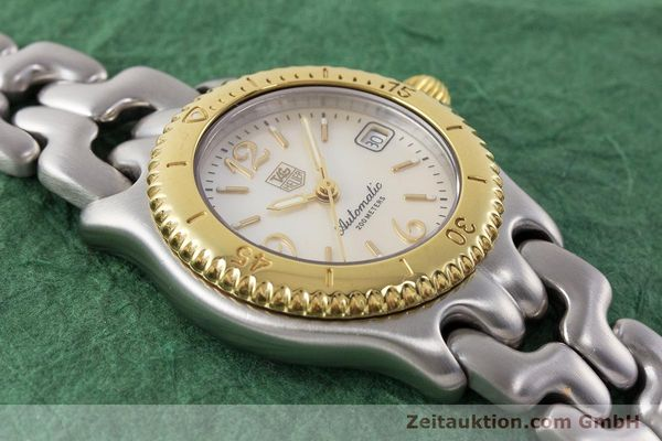 Used luxury watch Tag Heuer Link steel automatic Kal. ETA 2000-1 Ref. WG2320  | 161425 15