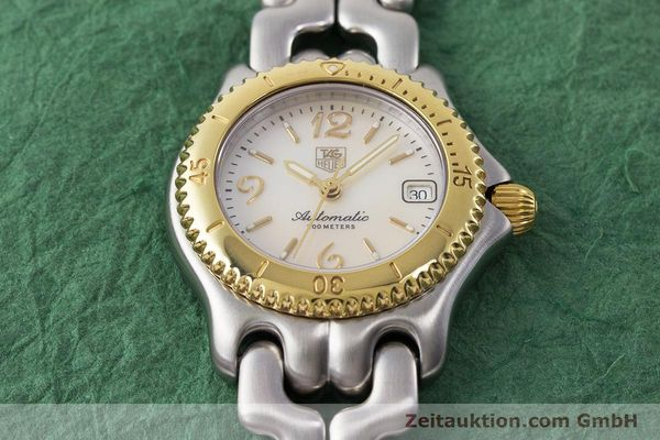 Used luxury watch Tag Heuer Link steel automatic Kal. ETA 2000-1 Ref. WG2320  | 161425 16