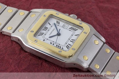 CARTIER SANTOS STEEL / GOLD AUTOMATIC KAL. ETA 2671 LP: 7100EUR [161426]