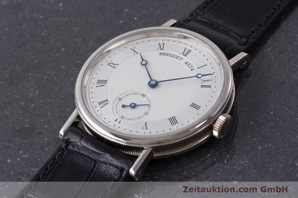 Used luxury watch Breguet Classique 18 ct white gold manual winding Kal. 511DR Ref. 5907  | 161427 01