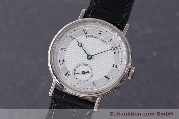 Used luxury watch Breguet Classique 18 ct white gold manual winding Kal. 511DR Ref. 5907  | 161427 04