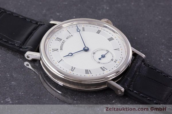 Used luxury watch Breguet Classique 18 ct white gold manual winding Kal. 511DR Ref. 5907  | 161427 13