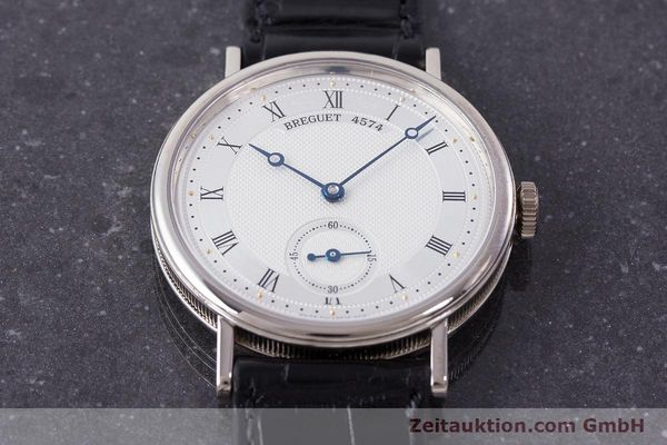 Used luxury watch Breguet Classique 18 ct white gold manual winding Kal. 511DR Ref. 5907  | 161427 14