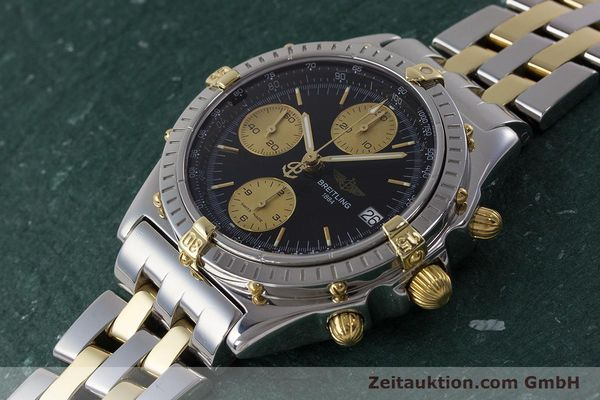 Used luxury watch Breitling Chronomat chronograph steel / gold automatic Kal. B13 ETA 7750 Ref. B13048  | 161428 01