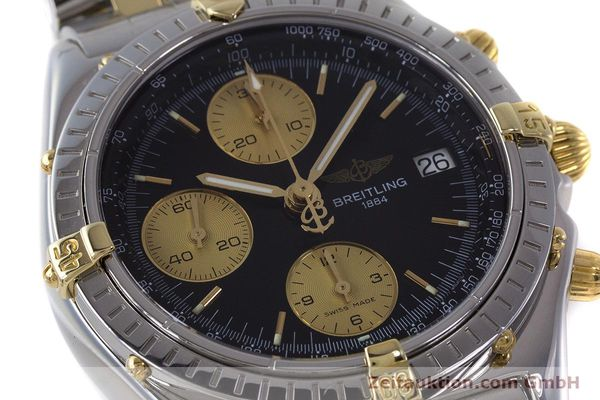 Used luxury watch Breitling Chronomat chronograph steel / gold automatic Kal. B13 ETA 7750 Ref. B13048  | 161428 02