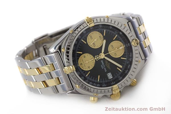 Used luxury watch Breitling Chronomat chronograph steel / gold automatic Kal. B13 ETA 7750 Ref. B13048  | 161428 03