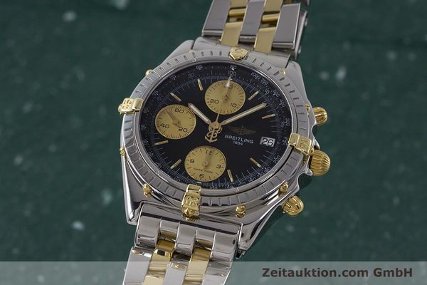 Used luxury watch Breitling Chronomat chronograph steel / gold automatic Kal. B13 ETA 7750 Ref. B13048  | 161428 04
