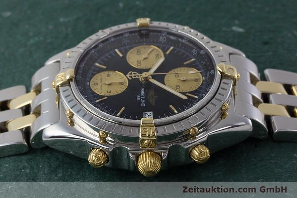 Used luxury watch Breitling Chronomat chronograph steel / gold automatic Kal. B13 ETA 7750 Ref. B13048  | 161428 05