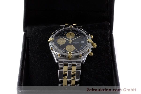 Used luxury watch Breitling Chronomat chronograph steel / gold automatic Kal. B13 ETA 7750 Ref. B13048  | 161428 07
