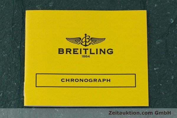 Used luxury watch Breitling Chronomat chronograph steel / gold automatic Kal. B13 ETA 7750 Ref. B13048  | 161428 14