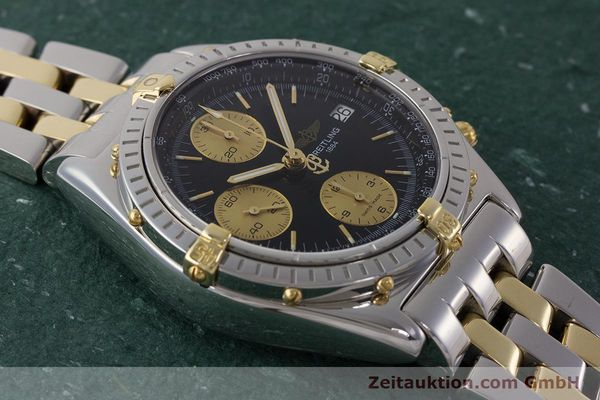 Used luxury watch Breitling Chronomat chronograph steel / gold automatic Kal. B13 ETA 7750 Ref. B13048  | 161428 16