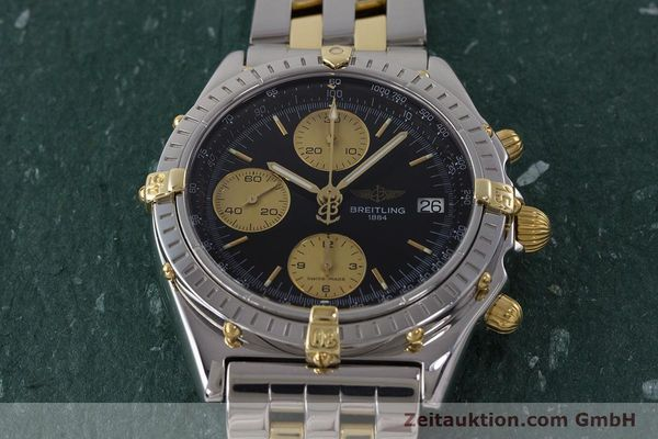 Used luxury watch Breitling Chronomat chronograph steel / gold automatic Kal. B13 ETA 7750 Ref. B13048  | 161428 17