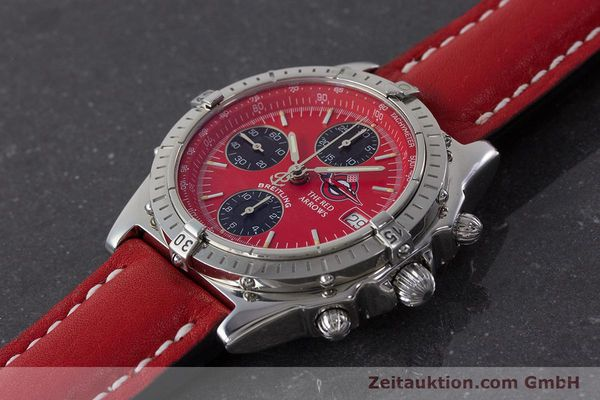 Used luxury watch Breitling Chronomat chronograph steel automatic Kal. B13 ETA 7750 Ref. A13050.1 LIMITED EDITION | 161434 01