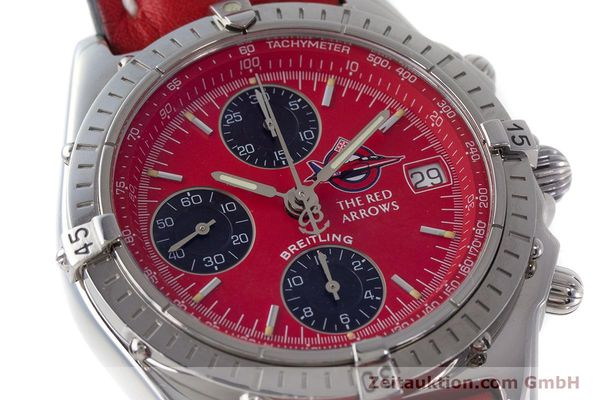 Used luxury watch Breitling Chronomat chronograph steel automatic Kal. B13 ETA 7750 Ref. A13050.1 LIMITED EDITION | 161434 02