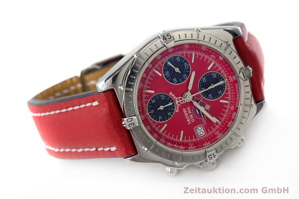 Used luxury watch Breitling Chronomat chronograph steel automatic Kal. B13 ETA 7750 Ref. A13050.1 LIMITED EDITION | 161434 03