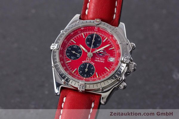 Used luxury watch Breitling Chronomat chronograph steel automatic Kal. B13 ETA 7750 Ref. A13050.1 LIMITED EDITION | 161434 04