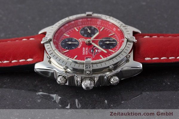 Used luxury watch Breitling Chronomat chronograph steel automatic Kal. B13 ETA 7750 Ref. A13050.1 LIMITED EDITION | 161434 05