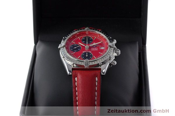 Used luxury watch Breitling Chronomat chronograph steel automatic Kal. B13 ETA 7750 Ref. A13050.1 LIMITED EDITION | 161434 07