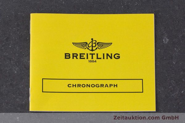 Used luxury watch Breitling Chronomat chronograph steel automatic Kal. B13 ETA 7750 Ref. A13050.1 LIMITED EDITION | 161434 12