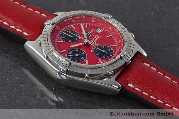 Used luxury watch Breitling Chronomat chronograph steel automatic Kal. B13 ETA 7750 Ref. A13050.1 LIMITED EDITION | 161434 15