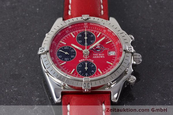 Used luxury watch Breitling Chronomat chronograph steel automatic Kal. B13 ETA 7750 Ref. A13050.1 LIMITED EDITION | 161434 16