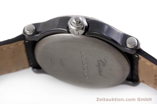 Used luxury watch Chopard Happy Sport ceramic / titanium quartz Kal. ETA 955.112 Ref. 8507/28/8507 LIMITED EDITION | 161435 08