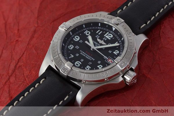 Used luxury watch Breitling Colt steel quartz Kal. B74 ETA 955652 Ref. A74380  | 161438 01