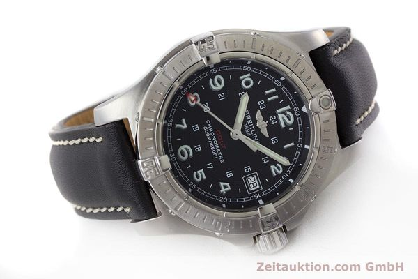 Used luxury watch Breitling Colt steel quartz Kal. B74 ETA 955652 Ref. A74380  | 161438 03