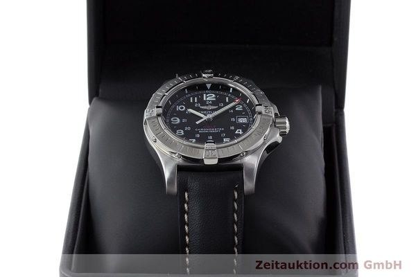 Used luxury watch Breitling Colt steel quartz Kal. B74 ETA 955652 Ref. A74380  | 161438 07