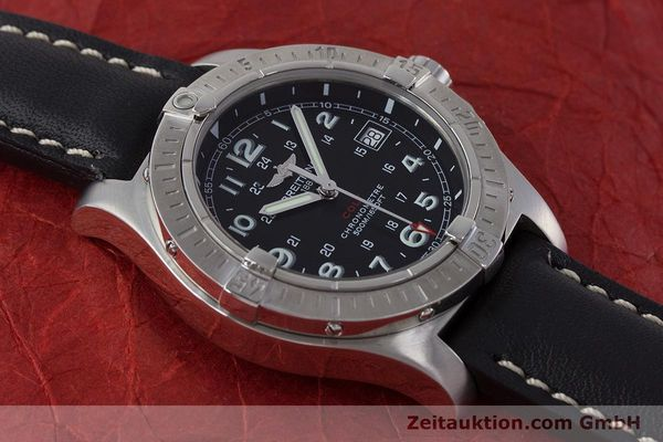 Used luxury watch Breitling Colt steel quartz Kal. B74 ETA 955652 Ref. A74380  | 161438 13