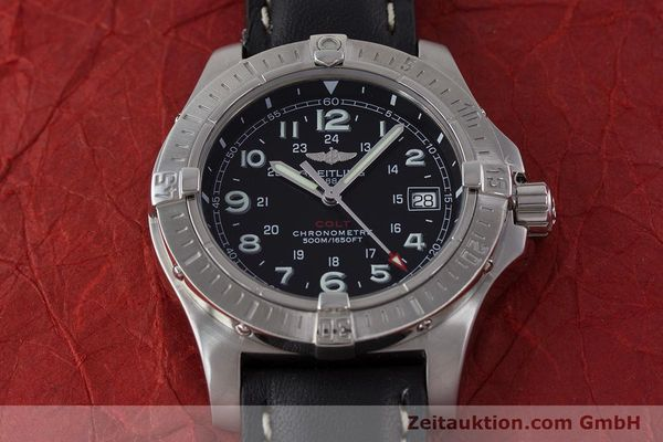 Used luxury watch Breitling Colt steel quartz Kal. B74 ETA 955652 Ref. A74380  | 161438 14