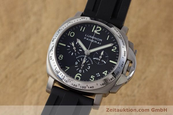 PANERAI LUMINOR  CHRONOGRAPHE TITANE  AUTOMATIQUE KAL. OP IV 4002 LP: 7400EUR  [161440]