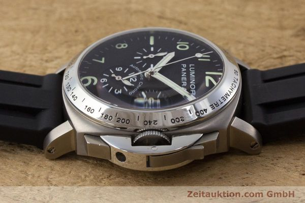 Used luxury watch Panerai Luminor  chronograph titanium automatic Kal. OP IV 4002 Ref. OP6531 LIMITED EDITION | 161440 05