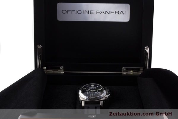 Used luxury watch Panerai Luminor  chronograph titanium automatic Kal. OP IV 4002 Ref. OP6531 LIMITED EDITION | 161440 07