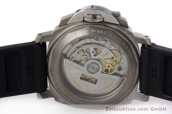 Used luxury watch Panerai Luminor  chronograph titanium automatic Kal. OP IV 4002 Ref. OP6531 LIMITED EDITION | 161440 09