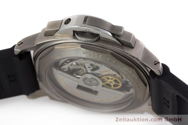 Used luxury watch Panerai Luminor  chronograph titanium automatic Kal. OP IV 4002 Ref. OP6531 LIMITED EDITION | 161440 11