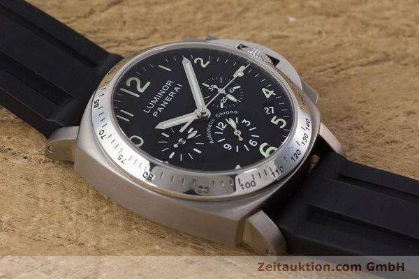 Used luxury watch Panerai Luminor  chronograph titanium automatic Kal. OP IV 4002 Ref. OP6531 LIMITED EDITION | 161440 15