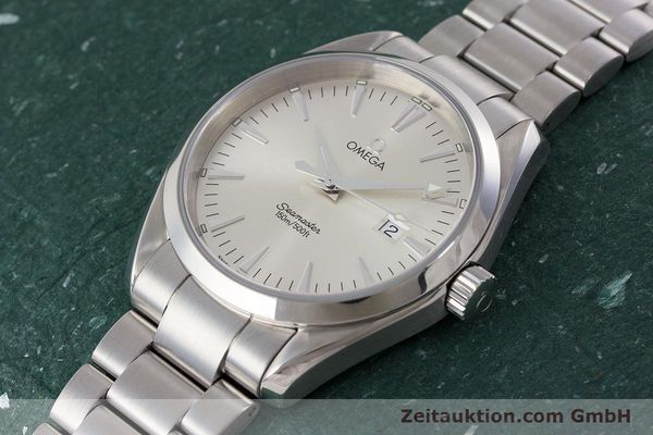 Used luxury watch Omega Seamaster steel quartz Kal. 1538 Ref. 25173000  | 161443 01
