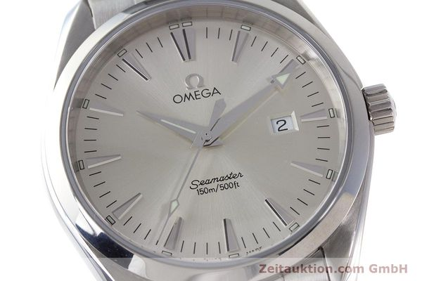 Used luxury watch Omega Seamaster steel quartz Kal. 1538 Ref. 25173000  | 161443 02