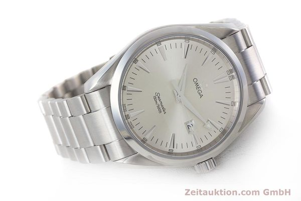 Used luxury watch Omega Seamaster steel quartz Kal. 1538 Ref. 25173000  | 161443 03