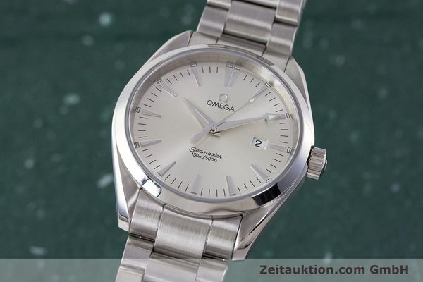 Used luxury watch Omega Seamaster steel quartz Kal. 1538 Ref. 25173000  | 161443 04