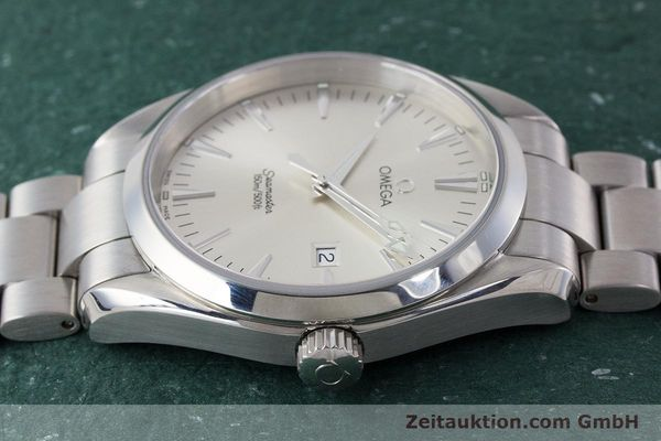 Used luxury watch Omega Seamaster steel quartz Kal. 1538 Ref. 25173000  | 161443 05