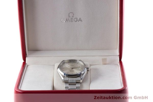 Used luxury watch Omega Seamaster steel quartz Kal. 1538 Ref. 25173000  | 161443 07