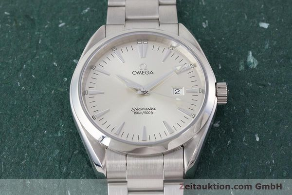 Used luxury watch Omega Seamaster steel quartz Kal. 1538 Ref. 25173000  | 161443 16
