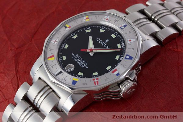Used luxury watch Corum Admirals Cup steel automatic Kal. ETA 2892A2 Ref. 982.530.20  | 161446 01