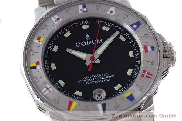 Used luxury watch Corum Admirals Cup steel automatic Kal. ETA 2892A2 Ref. 982.530.20  | 161446 02