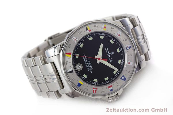 Used luxury watch Corum Admirals Cup steel automatic Kal. ETA 2892A2 Ref. 982.530.20  | 161446 03