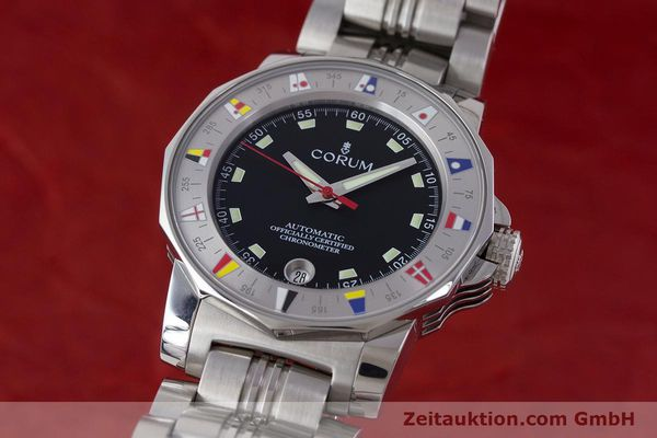 Used luxury watch Corum Admirals Cup steel automatic Kal. ETA 2892A2 Ref. 982.530.20  | 161446 04