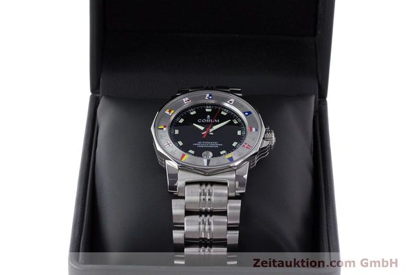 Used luxury watch Corum Admirals Cup steel automatic Kal. ETA 2892A2 Ref. 982.530.20  | 161446 07